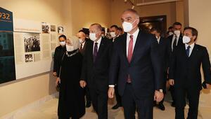 Cumhurbaşkanı Erdoğan, Ankara Devlet Resim ve Heykel Müzesini gezdi