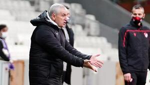 Çalımbay, Beşiktaş maçının ardından basına açıklamalarda bulundu
