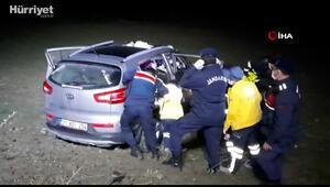 Afyonda feci kazada aynı aileden  4 kişi öldü