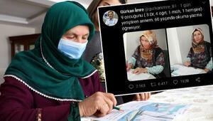 Doktor oğlu sosyal medyada paylaştı Herkes o anneyi konuşuyor...