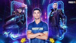 Cristiano Ronaldo Free Fire'da oyun karakteri oldu