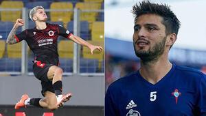 Trabzonspordan Okay Yokuşlu ve Berat Özdemir atağı
