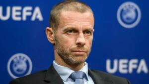 UEFA Başkanı Ceferin açıkladı İstanbul'daki finale seyircili olacakmış gibi hazırlanıyoruz...