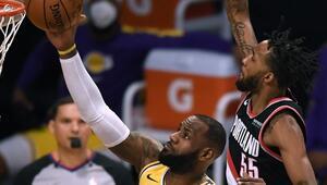 NBAde Gecenin Sonuçları | Lakers bu sezon ikinci kez kaybetti, Rocketsta kötü gidişat sürüyor