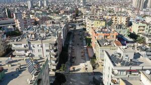 Tarsus'ta 4 mahallede yol çalışması