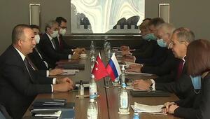 Dışişleri Bakanı Çavuşoğlu Rusyaya çalışma ziyareti gerçekleştiriyor