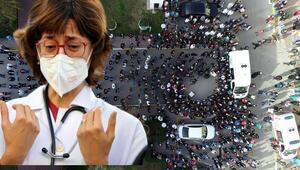 Yılın hekimi Yavuz Durmuş koronavirüse yenilmişti... Çalıştığı hastanede tören düzenlendi