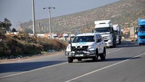 BM'den İdlibe 104 TIR ile insani yardım