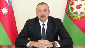 Azerbaycan Cumhurbaşkanı Aliyevden tebrik mesajı