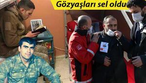 En zor görev Hakkarideki çığ şehidi Ali Özdemirin cenaze namazını ağabeyi kıldırdı