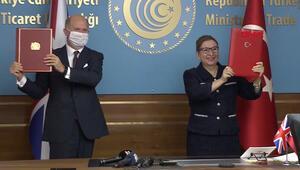 Son dakika... Tarihi anlaşma İngiltere ve Türkiye arasında imzalar atıldı