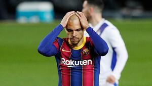 Messisiz Barcelona sahasında Eibarla 1-1 berabere kaldı