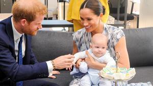 Prens Harry ile Meghan Markledan Archie sürprizi: Böyle mutlu yıllar diledi