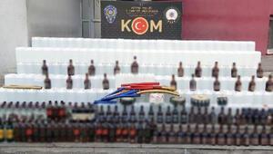 Adana'da, yılbaşı öncesi bin litre etil alkol ele geçirildi