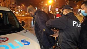 Parkta terör propagandası iddiası; 2 kişi gözaltına alındı