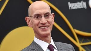 NBA Başkanı Adam Silver açıkladı Oyuncular aşıda öncelikli olacak...
