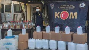 İstanbulda yılbaşı öncesi sahte içki operasyonu