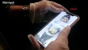 Kara para aklama operasyonunda yakılmış cep telefonu bulundu