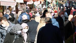 Eskişehir'de yılbaşı kısıtlaması öncesi 'alışveriş' yoğunluğu