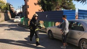 Kocaelide panik Ekipler yangını söndürmeye koşarak gitti