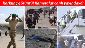 Son dakika: Yemende havalimanında patlama Can kaybı arttı