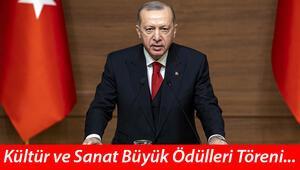 Cumhurbaşkanı Erdoğandan Kültür Sanat Büyük Ödülleri Töreninde önemli çağrı