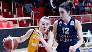 Galatasaray 60-74 Fenerbahçe Öznur Kablo