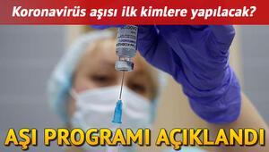 Koronavirüs aşısı kimlere yapılacak, nasıl uygulanacak Bakan Koca aşılama programını duyurdu