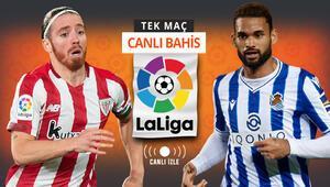 Son 6 lig maçında galibiyeti olmayan Sociedad, San Mamesde ne yapacak Bilbaonun iddaa oranı...