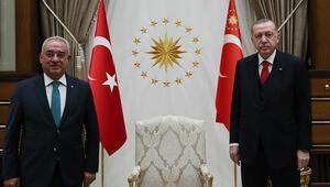 Erdoğan, Aksakal'la reform için buluştu