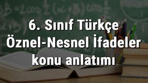 6. Sınıf Türkçe Öznel-Nesnel İfadeler konu anlatımı