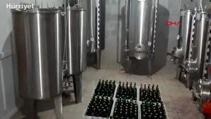 Bursada yılbaşı öncesi polis operasyonuyla 10 ton sahte içki ele geçirildi
