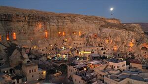 Kapadokya yeni yılı sakin karşılıyor