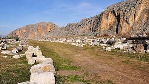 Anavarza Antik Kentinde arkeologları heyecanlandıran izler bulundu