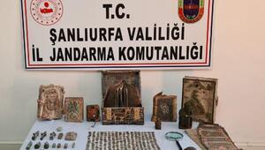 Şanlıurfa'da tarihi eser operasyonu: 4 gözaltı