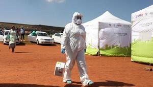 Güney Afrika Cumhuriyetinde koronavirüs vaka sayısı 1 milyon 39 bine ulaştı