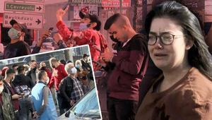 İstanbulda 8 katlı iş yerinde yangın çıktı O gözyaşlarına boğuldu diğerleri ise...