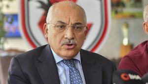 Gaziantep FK Başkanı Mehmet Büyükekşiden yeni yıl mesajı