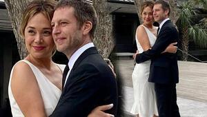 Didem Erol ve sevgilisi Nathan Cowles evlendi
