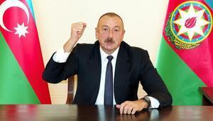 Aliyevden yılbaşı mesajı: Karabağ bölgesinde cennet yaratacağız
