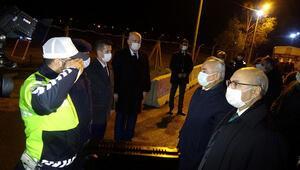 Bakan Yardımcısı Ersoydan yılbaşı gecesi polislere ziyaret