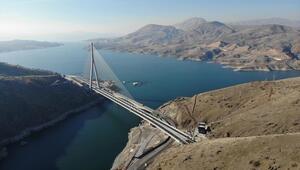 Dünyada dördüncü sırada Kömürhan Köprüsü ve Bağlantı Tüneli açılışı yarın gerçekleştirilecek