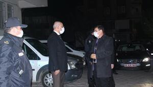 Burdur Valisi Arslantaş, yeni yılı Bucakta karşıladı