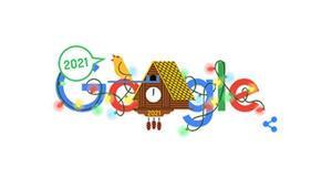 Google yeni yılı böyle kutladı
