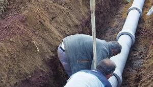 Tavşanlı'da 1846 metre kanalizasyon hattı döşendi