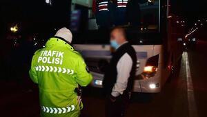 Konya'da kurallara uymayan 2 bin 724 sürücüye ceza