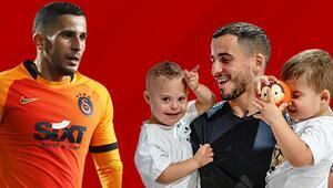Galatasaraylı Omar Elabdellaouinin yürek burkan hikayesi Down sendromlu oğlunu eğlendirmek için...