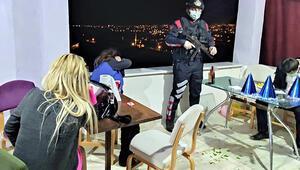 Tepki çeken yılbaşı eğlencesi İnşaat halindeki binada yakalandılar