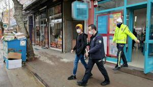 Marketten hırsızlık şüphelisine sokağa çıkma cezası