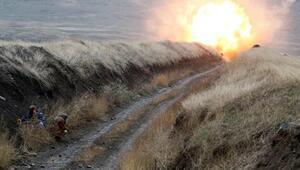 Ermeni askerlerinin döşediği mayın patladı 1 kişi öldü